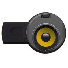 Audio Loadspeaker Activ Usb Flash Drive Round (4 Gb)
