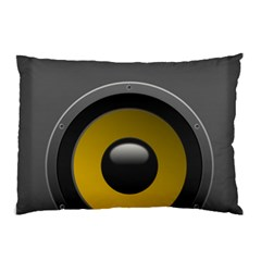 Audio Loadspeaker Activ Pillow Case by Nexatart
