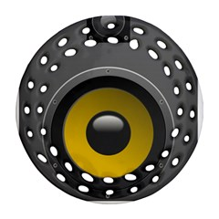 Audio Loadspeaker Activ Ornament (round Filigree)