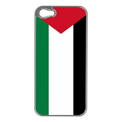 Palestine Flag Apple Iphone 5 Case (silver)