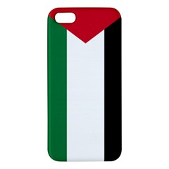 Palestine Flag Apple Iphone 5 Premium Hardshell Case