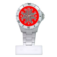 Backdrop Background Pattern Plastic Nurses Watch by Nexatart
