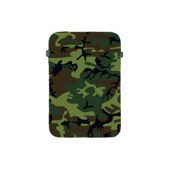 Camouflage Green Brown Black Apple Ipad Mini Protective Soft Cases