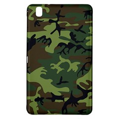 Camouflage Green Brown Black Samsung Galaxy Tab Pro 8 4 Hardshell Case by Nexatart