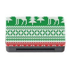 Christmas Jumper Pattern Memory Card Reader With Cf