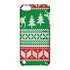 Christmas Jumper Pattern Apple Ipod Touch 5 Hardshell Case With Stand by Nexatart