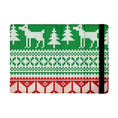 Christmas Jumper Pattern Ipad Mini 2 Flip Cases by Nexatart