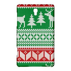 Christmas Jumper Pattern Samsung Galaxy Tab S (8 4 ) Hardshell Case  by Nexatart