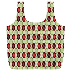 Christmas Pattern Full Print Recycle Bags (l)