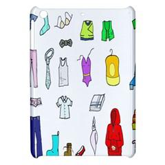 Clothing Boots Shoes Shorts Scarf Apple Ipad Mini Hardshell Case by Nexatart