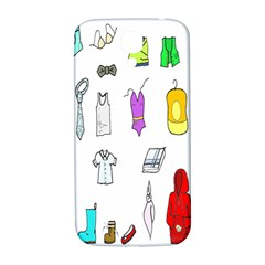 Clothing Boots Shoes Shorts Scarf Samsung Galaxy S4 I9500/i9505  Hardshell Back Case by Nexatart