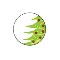 Christmas Tree Christmas Hat Clip Ball Marker (10 Pack)