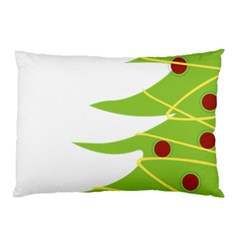 Christmas Tree Christmas Pillow Case by Nexatart