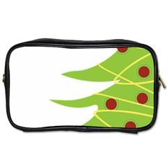 Christmas Tree Christmas Toiletries Bags 2 Side