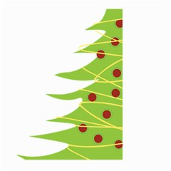 Christmas Tree Christmas Large Garden Flag (two Sides) by Nexatart