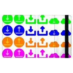 Download Upload Web Icon Internet Apple Ipad 3/4 Flip Case