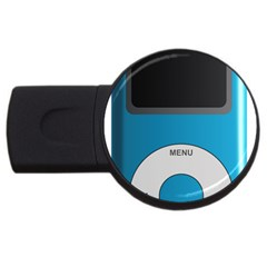 Digital Mp3 Musik Player Usb Flash Drive Round (2 Gb)