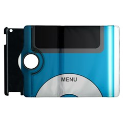 Digital Mp3 Musik Player Apple Ipad 2 Flip 360 Case by Nexatart
