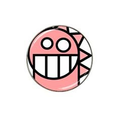 Dragon Head Pink Childish Cartoon Hat Clip Ball Marker