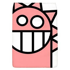 Dragon Head Pink Childish Cartoon Flap Covers (s)  by Nexatart