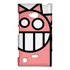 Dragon Head Pink Childish Cartoon Nokia Lumia 720 by Nexatart