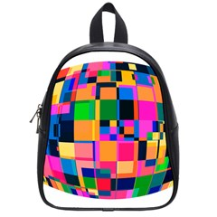 Color Focusing Screen Vault Arched School Bags (Small)  by Nexatart