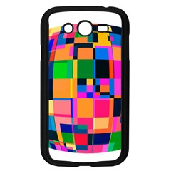 Color Focusing Screen Vault Arched Samsung Galaxy Grand Duos I9082 Case (black)