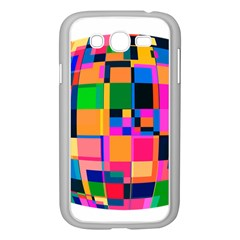 Color Focusing Screen Vault Arched Samsung Galaxy Grand Duos I9082 Case (white)