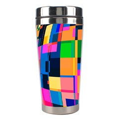 Color Focusing Screen Vault Arched Stainless Steel Travel Tumblers
