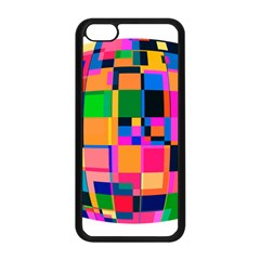 Color Focusing Screen Vault Arched Apple Iphone 5c Seamless Case (black)