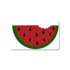 Food Slice Fruit Bitten Watermelon Magnet (name Card)