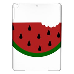 Food Slice Fruit Bitten Watermelon Ipad Air Hardshell Cases by Nexatart