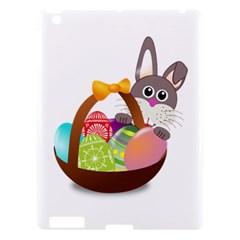 Easter Bunny Eggs Nest Basket Apple Ipad 3/4 Hardshell Case