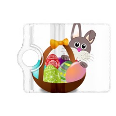 Easter Bunny Eggs Nest Basket Kindle Fire Hd (2013) Flip 360 Case by Nexatart