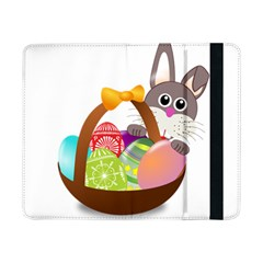 Easter Bunny Eggs Nest Basket Samsung Galaxy Tab Pro 8 4  Flip Case by Nexatart