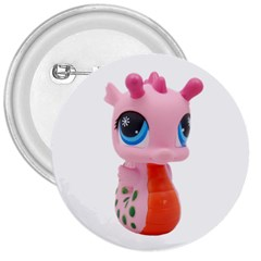 Dragon Toy Pink Plaything Creature 3  Buttons