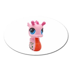Dragon Toy Pink Plaything Creature Oval Magnet