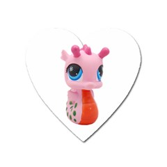 Dragon Toy Pink Plaything Creature Heart Magnet