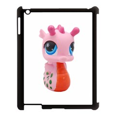 Dragon Toy Pink Plaything Creature Apple Ipad 3/4 Case (black) by Nexatart