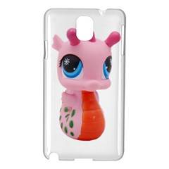 Dragon Toy Pink Plaything Creature Samsung Galaxy Note 3 N9005 Hardshell Case by Nexatart