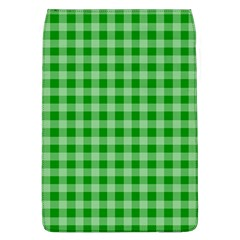 Gingham Background Fabric Texture Flap Covers (l)