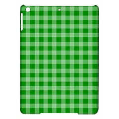 Gingham Background Fabric Texture Ipad Air Hardshell Cases by Nexatart
