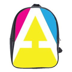 Graphic Design Web Design School Bags (xl)  by Nexatart