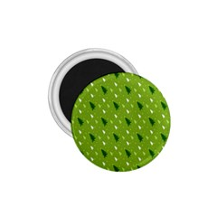 Green Christmas Tree Background 1 75  Magnets by Nexatart