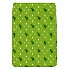 Green Christmas Tree Background Flap Covers (l)  by Nexatart