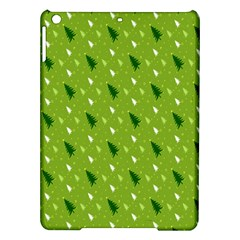 Green Christmas Tree Background Ipad Air Hardshell Cases by Nexatart