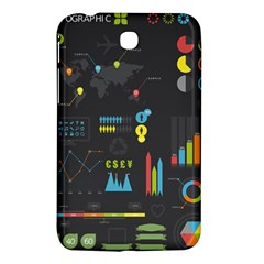Graphic Table Symbol Vector Chart Samsung Galaxy Tab 3 (7 ) P3200 Hardshell Case