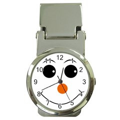 Happy Face With Orange Nose Vector File Money Clip Watches by Nexatart