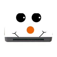 Happy Face With Orange Nose Vector File Memory Card Reader With Cf