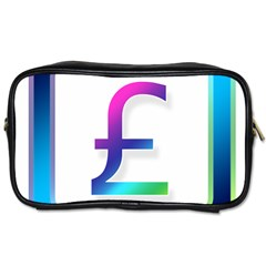 Icon Pound Money Currency Symbols Toiletries Bags